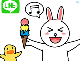 Line - Cony by DaaG1604