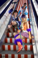 Final Fantasy Escalator by const-de