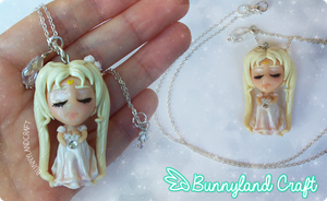 Princess Serenity inspired necklace by BunnyLandCraft