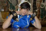Sweet Chun-Li by Elsa-Cosplay