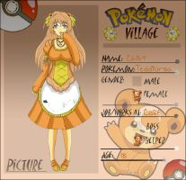 Poke-Village App: Chiri by captured-firefly