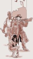 Gods of the old west by Pachycrocuta