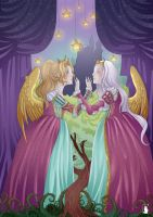 The two queens. by Aurelya-LB