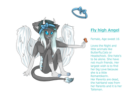 Fly high Angel Refsheet by oXDayDreamXo