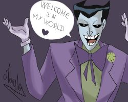 joker say welcome by Lunna-World