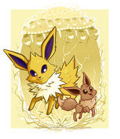 Eevee Evolutions - Jolteon by ImmortalTanuki