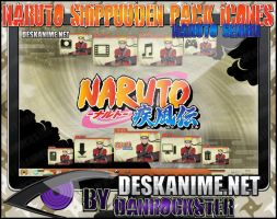 Naruto Sennin Theme Pack Icons by Danrockster