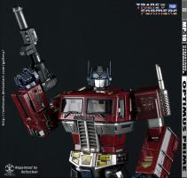 Optimus Prime MP-10 Repaint - My Name Is Optimus by xeltecon