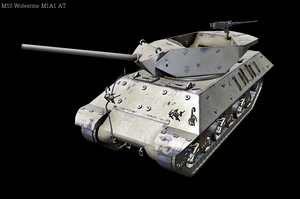 M10 Wolverine M1A1 AT by Hellomon100
