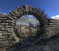 Moon Gate by davidbrinnen