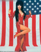 Elvira in sequins 2 by CaptPatriot2020
