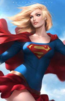 Supergirl by alex-malveda