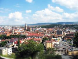 Cluj - Miniature by rhadiel