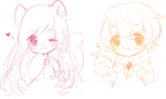 Tiny doodle dump by Sueweetie