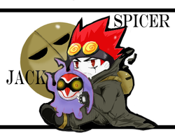 Jack Spicer -chibi by Oune