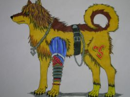 Tidus Wolf by jennymaycry
