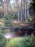 Forest river by AwaaraC