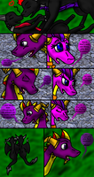 Spyro comic page 8. by DragonAura16