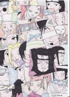 Naruto Characters by Dark-Anmut
