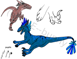 Chameleon Hound official species reference. by THE--bunny