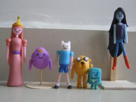 Adventure Time! Group Shot V5 by algo448