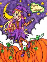 Halloween 2014: Sunbeam Witch by Magical-Mama