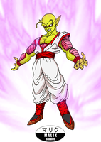 COMMISSION - Nilok The Golden Namekian by MalikStudios