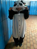 Guess who has the perfect pandacostume! :3 by NilleChan