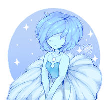 Blue Pearl [Pixel] by Ghostpuffy