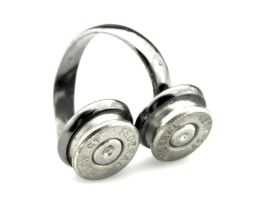Black Bullet Ring - 45 Caliber Bullet Casing Ring by IndustrialSwank