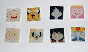 Adventure Time Magnets by knil-maloon