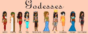 Goddesses by TheBealtes