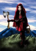 Scarlett the little  red riding hood by Lady--knight