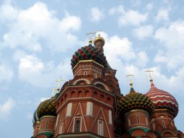 Saint Basil's Cathedral by nuke-vizard