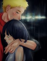 NaruHina - The Last - I'm glad you're safe by szyszke
