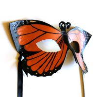 Monarch Butterfly Mask by OakMyth