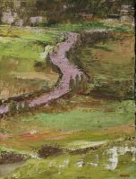 Abstract Landscape Painting by chalk42002