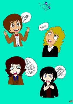 The Doctors XD by NyxNevermore