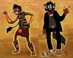New Wanderlust Blues Character Design by ceallach-monster