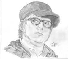 Patrick Stump - Pencil by aratithiliel