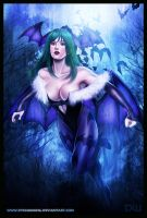 Morrigan Aensland by ChekydotStudio