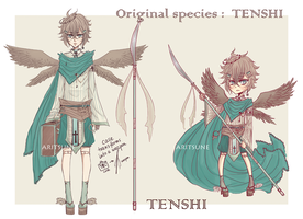 [OPEN offer to adopt] Tenshi original species. #2 by Aritsune-chan