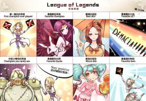 [LOL] My league of legends (with color) by beanbean1988