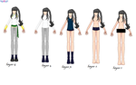Clothes Progression by sailorx161