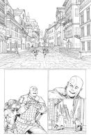 DnD Legends of Baldur's Gate Issue 1 Page by Max-Dunbar