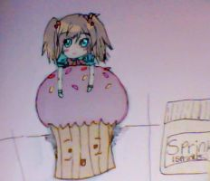 ChibiN'Cupcake by AllAngelicTouch