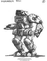 MechWarrior Fail: Highlander by Mecha-Zone