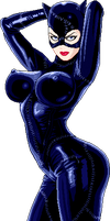 Catwoman by Real-Warner