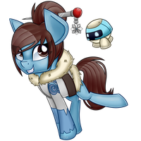[PRIZE] Mei - MLPxOverwatch by partylikeapegasister