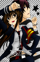Watashi ni xx Shinasai! Coloring by finnel-harvestasya